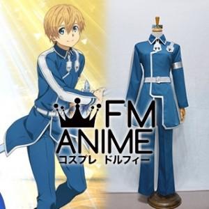 Sword Art Online Alicization Eugeo Blue Cosplay Costume