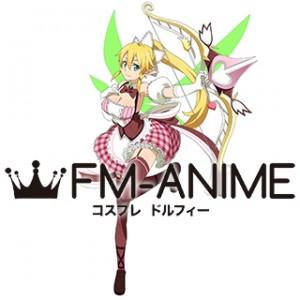 Sword Art Online Code Register (Game) Leafa Valentine's Day Version Cosplay Costume