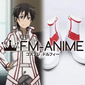 Sword Art Online Kirito / Kazuto Kirigaya Knights of the Blood Cosplay Shoes Boots