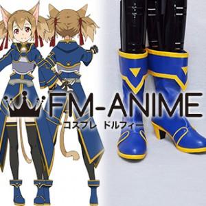 Sword Art Online 2 Silica / Keiko Ayano (ALfheim Online, ALO) Cosplay Shoes Boots