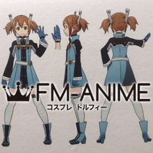 Sword Art Online The Movie: Ordinal Scale Silica / Keiko Ayano Cosplay Costume