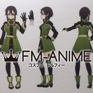 Sword Art Online The Movie: Ordinal Scale Shino Asada Cosplay Costume