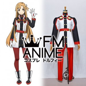 Sword Art Online The Movie: Ordinal Scale Asuna Yuuki Cosplay Costume