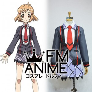 Symphogear Hibiki Tachibana Uniform Cosplay Costume