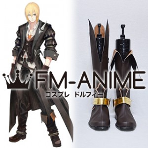 Tales of Berseria (series) Eizen Cosplay Shoes Boots