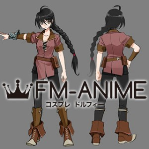 Tales of Berseria Velvet Crowe Prologue Cosplay Costume