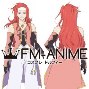 Tales of Symphonia Zelos Wilder Cosplay Wig