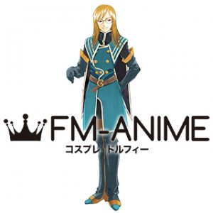 Tales of the Abyss Jade Curtiss Cosplay Costume & Boots