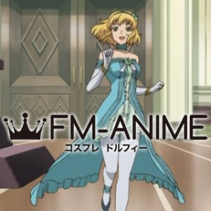 Tales of the Abyss Natalia Beloved Princess Dress Anime Ver. Cosplay Costume