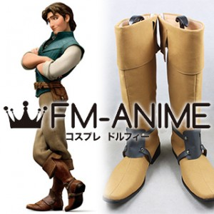 Tangled (2010 Disney film) Flynn Rider Cosplay Shoes Boots