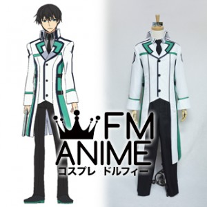 The Irregular at Magic High School Tatsuya Shiba First High School Male Uniform Cosplay Costume