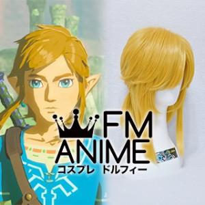 The Legend of Zelda: Breath of the Wild Link Cosplay Wig