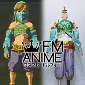 The Legend of Zelda: Breath of the Wild Link Gerudo Cosplay Costume