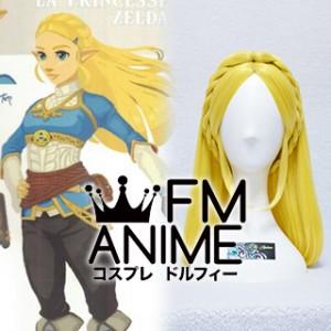 The Legend of Zelda: Breath of the Wild Princess Zelda Cosplay Wig