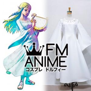 The Legend of Zelda: Skyward Sword Princess Zelda Goddess Hylia White Dress Cosplay Costume
