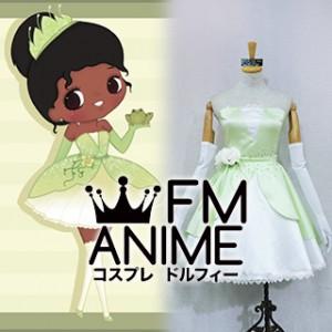 The Princess and the Frog (Disney 2009 film) Tiana Sailor Tiana Dress Cosplay Costume