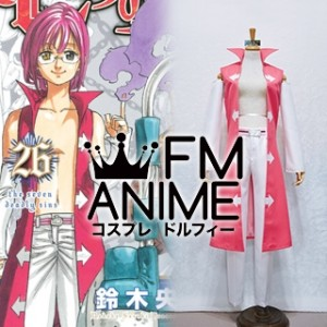 The Seven Deadly Sins Gowther Manga Volume 26 Cosplay Costume