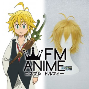 The Seven Deadly Sins Meliodas Cosplay Wig