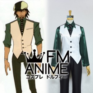 Tiger & Bunny Kotetsu T. Kaburagi Cosplay Costume