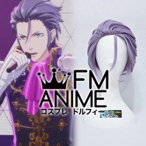 Tokyo Mirage Sessions #FE Black Rain Yashiro Tsurugi Live Cosplay Wig