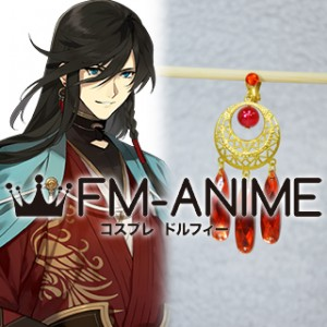 Touken Ranbu Izuminokami Kanesada Earring Cosplay Accessories (Piece)