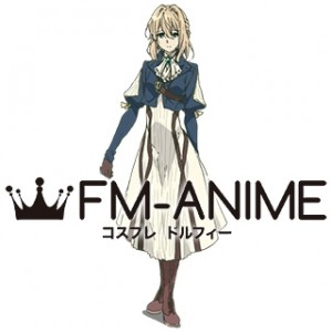 Violet Evergarden Violet Evergarden Dress Cosplay Costume