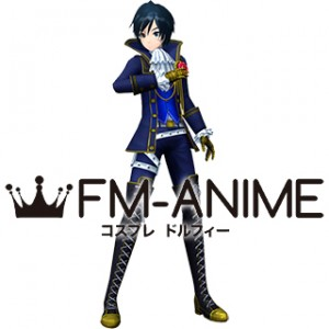 Vocaloid 2 Project DIVA F Requiem Kaito Cosplay Costume