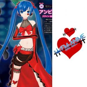 Vocaloid Hatsune Miku Ambivalence Cosplay Tattoo Stickers
