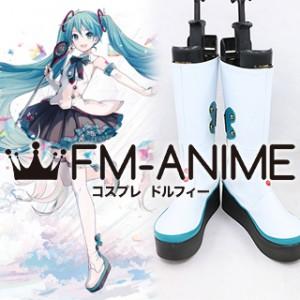 Vocaloid Hatsune Miku Magical Mirai 2017 Cosplay Shoes Boots