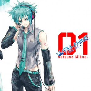 Vocaloid Hatsune Mikuo Cosplay Tattoo Stickers