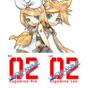 Vocaloid Kagamine Len & Kagamine Rin Cosplay Tattoo Stickers