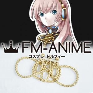 Vocaloid Megurine Luka & Luki Format Brooch Cosplay Accessories