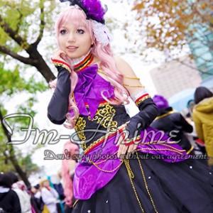 Vocaloid Megurine Luka Sandplay Singing of the Dragon Dress Cosplay Costume