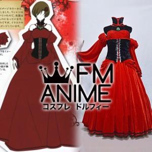Vocaloid Meiko Conchita Red Dress Cosplay Costume