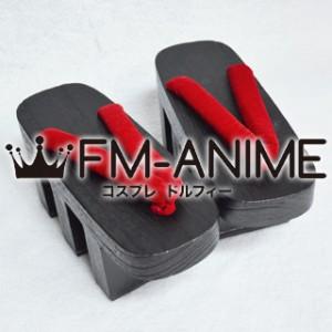 Vocaloid Meiko Senbonzakura Kimono Japanese Geta Wooden Sandals Cosplay Shoes