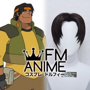 Voltron Hunk Legendary Defender Cosplay Wig