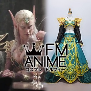 World of Warcraft 2016 Film Elf Delegate Cosplay Costume