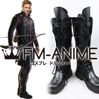 Avengers 2 Age Of Ultron Marvel Hawkeye Cosplay Shoes Boots