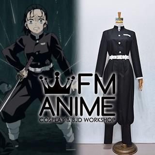 Demon Slayer: Kimetsu no Yaiba Tanjiro Zenitsu Kisatsutai Black Military Uniform Cosplay Costume