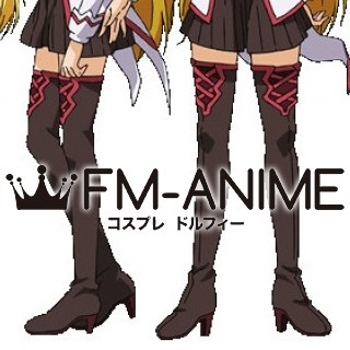 Dragonar Academy Silvia Lautreamont  Cosplay Shoes Boots