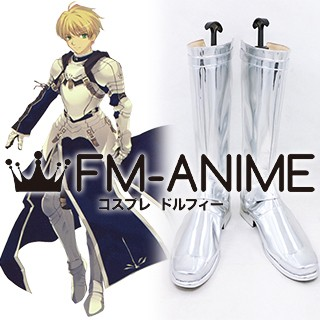 Fate/Prototype Saber Male Cosplay Shoes Boots