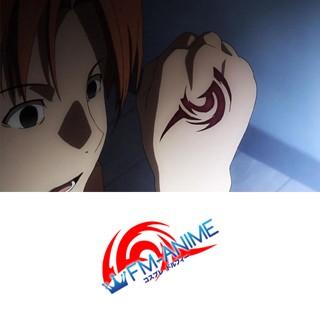 Fate/Zero Uryuu Ryuunosuke Command Seals Cosplay Tattoo Stickers
