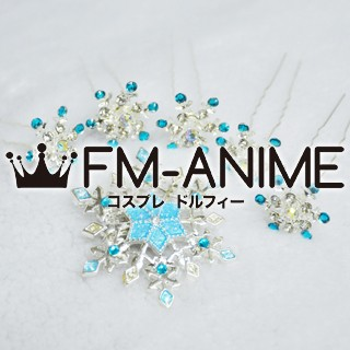 [Display] Frozen (Disney 2013 film) Elsa Snowflake Headdress Cosplay