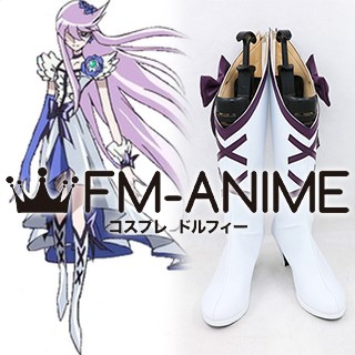 HeartCatch PreCure! Yuri Tsukikage (Cure Moonlight) Cosplay Shoes Boots