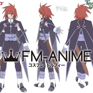 Tales of Symphonia Kratos Aurion Cosplay Wig