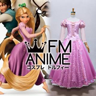 Tangled (Disney 2010 film) Rapunzel Dress Cosplay Costume