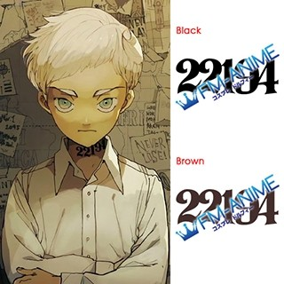 The Promised Neverland Norman 22194 Number Cosplay Tattoo Stickers