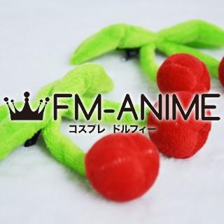 [Display] Vocaloid Hatsune Miku Sakura 2012 Version Cosplay Cherry Headdress Plush Doll