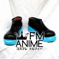 Vocaloid Hatsune Miku Cosplay Shoes Boots #A556