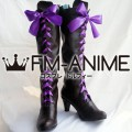 Black Butler II Alois Trancy Cosplay Shoes Boots (Dark Brown)